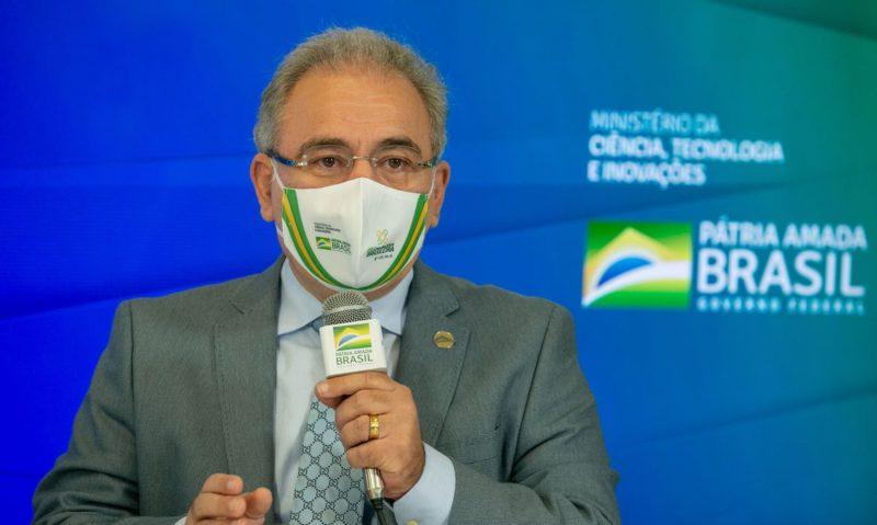 Ministro da Saúde, Marcelo Queiroga, que assegurou a segurança da realização da polêmica competição em território brasileiro – Foto: Myke Sena/Divulgação/ND