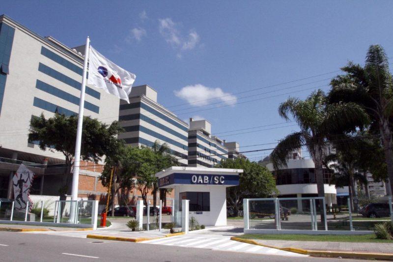 Sede da OAB catarinense, em Florianópolis – Foto: Divulgação/ND