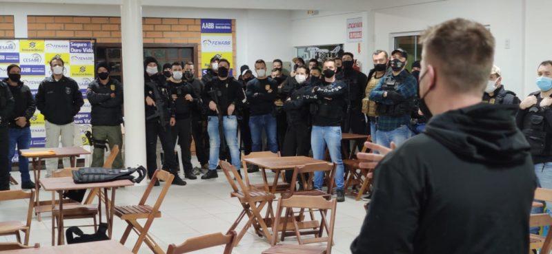 Operação em Saudades e Pinhalzinho prende 10 envolvidos em organização criminosa – Foto: Polícia Civil/ND