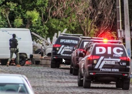 DIC realiza operação Zip-lock e prende três pessoas associadas ao tráfico de drogas – Foto: Polícia Civil/Divulgação ND