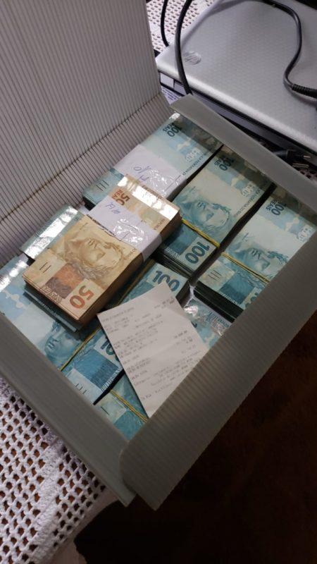 PF encontrou R$80 mil em casa de um dos investigados – Foto: Divulgação/PF/ND