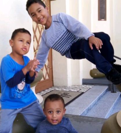 Braian Miguel, Cauã Miguel e Arthur Miguel esbanjam saúde e alegria – Foto: Arquivo pessoal/ND