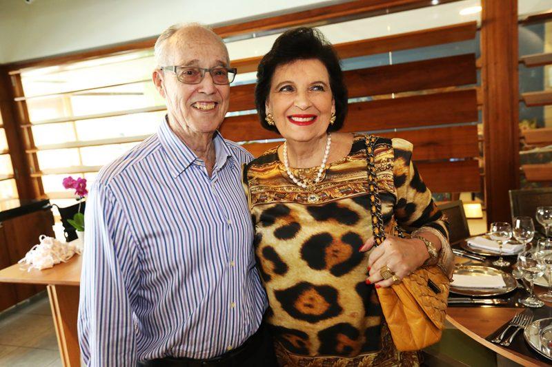 Paulo Ferreira Lima e esposa Vera Goulart Ferreira Lima – Foto: Arquivo