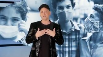 Última aparição de Paulo Gustavo na televisão passou mensagem de esperança – Foto: TV Globo/Reprodução