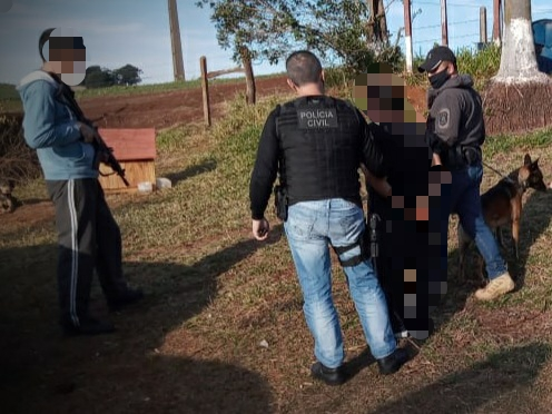 homem foi preso após matar o irmão em Xanxerê