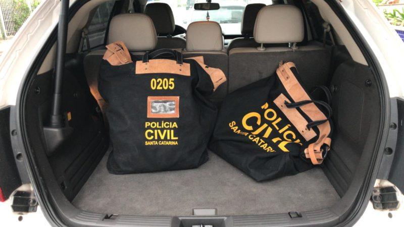 Deic, Delegaciais de Polícia locais e IGP participaram da operação – Foto: Polícia Civil/Divulgação/ND