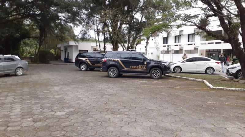 Polícia federal esteve em cinco prefeituras, entre elas Urussanga no Sul do Estado – Foto: Divulgação