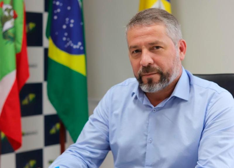 Salmir da Silva (MDB), que assumiu o comando do Executivo neste ano – Foto: PMB/Divulgação/ND