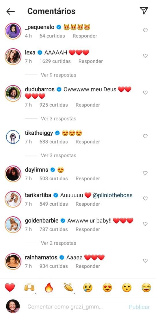 Amigos de Anitta se derreteram de amor com postagem da cantora - Reprodução Instagra/ND