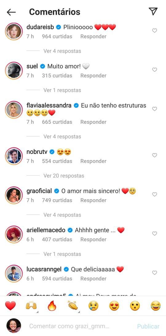 Amigos de Anitta se derreteram de amor com postagem da cantora - Reprodução Instagram/ND