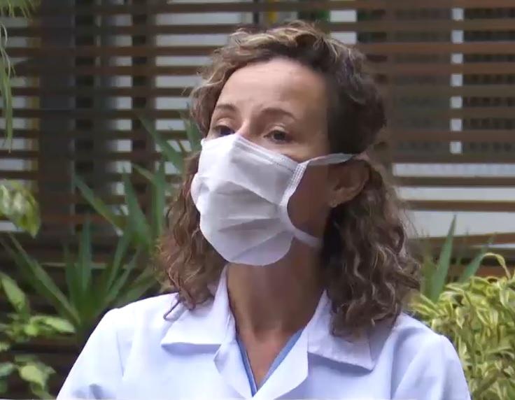 Psicóloga Kethe de Oliveira Souza teve de lidar com o impacto da morte. – Foto: Reprodução vídeo/Divulgação ND