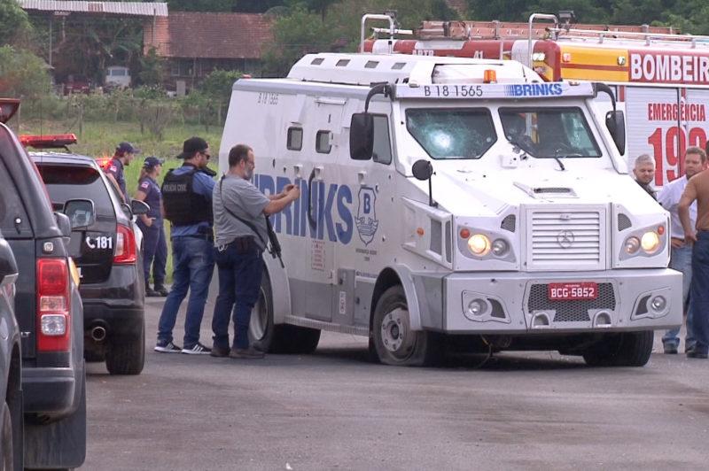 Dois anos depois, assaltantes do Aeroporto de Blumenau são condenados – Foto: Reprodução/NDTV Blumenau