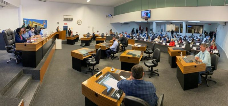 As comissões de Saúde e de Finanças votaram a favor de dois dos três projetos relacionados à reforma da previdência que tramitam na Câmara de Vereadores de Joinville. Agora, as duas propostas podem ser votadas no plenário nas próximas sessões – Foto: Câmara de Vereadores de Joinville/Divulgação