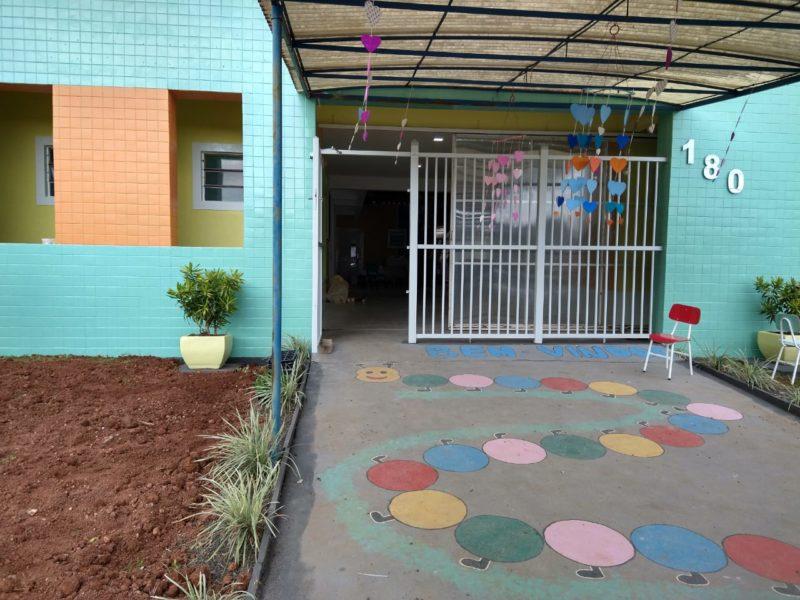 A reforma na creche terminou na última sexta-feira (21) – Foto: Caroline Figueiredo/ND