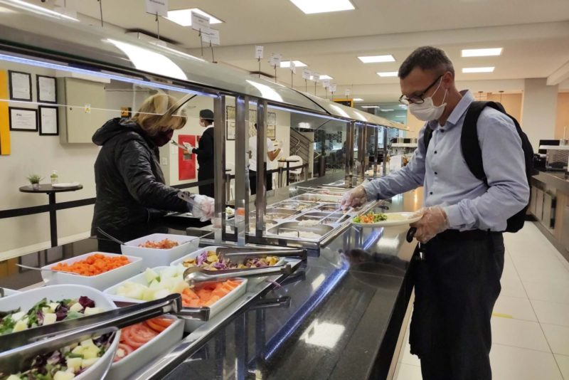 Restaurante recebe clientes durante a pandemia – Foto: Divulgação/Sesc