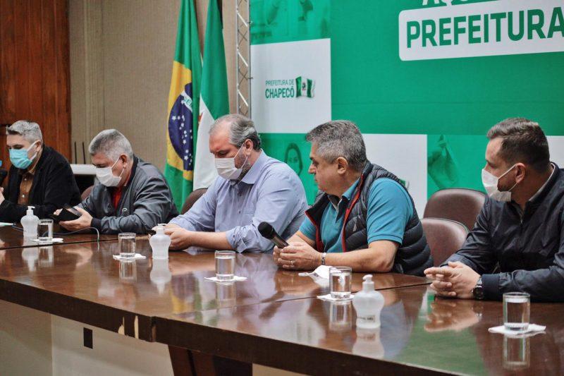 Cai número de testes positivos para Covid-19 entre população com sintomas em Chapecó – Foto: Leandro Schmidt/Prefeitura de Chapecó/ND