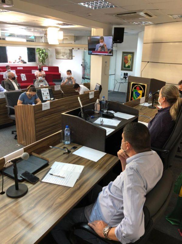 Reunião pública foi realizada na tarde desta terça (4), em São José – Foto: Divulgação/Câmara Municipal de São José