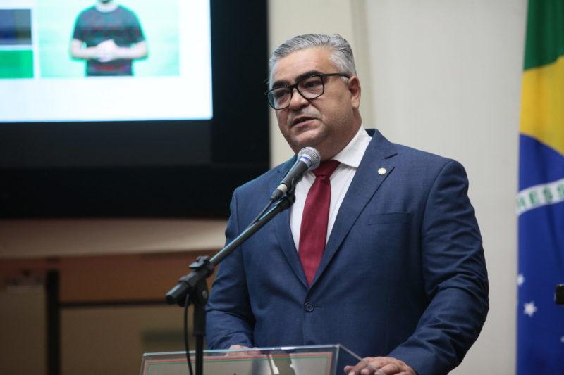 Deputado estadual Sargento Lima não participou da programação – Foto: Solon Soares/Alesc/Divulgação/ND