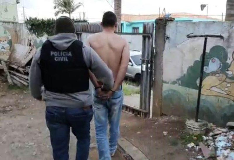Suspeito foi preso em Curitiba e crimes aconteceram em Santa Catarina e no Paraná – Foto: Polícia Civil/Divulgação
