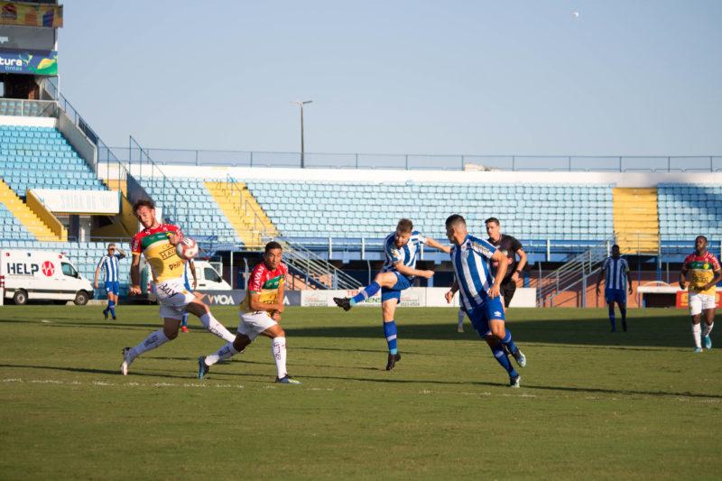 Brusque e Avaí se enfrentaram no último domingo – Foto: André Palma Ribeiro/Avaí F.C