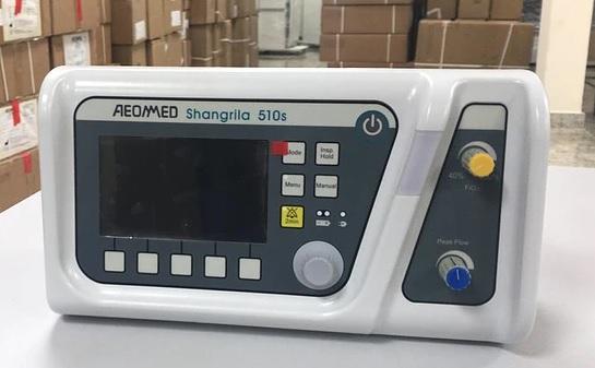 Respirador, modelo Shangrila510S, comprado na China não serve para UTI Covid e está sendo usado em ambulâncias do SAMU – Foto: Divulgação/ ND
