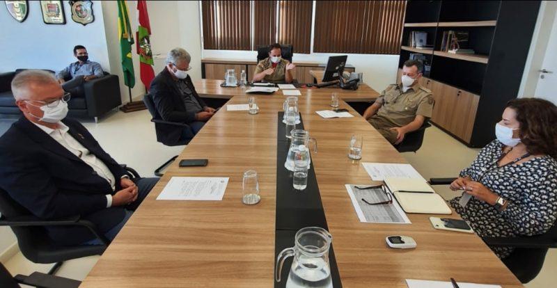 reunião de segurança pública