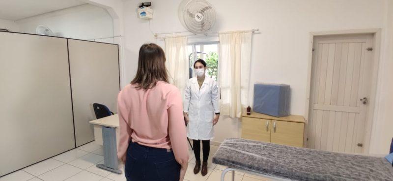 Centro de Reabilitação da Covid-19 iniciou os atendimentos nesta segunda-feira (31) em Gaspar – Foto: Stêvão Limana/NDTV