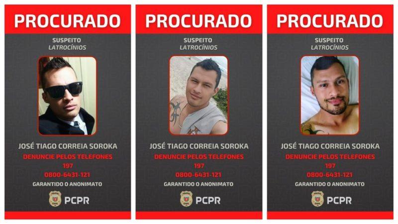 Polícia Civil divulgou cartazes com foto do suspeite – Foto: Polícia Civil/Divulgação/ND