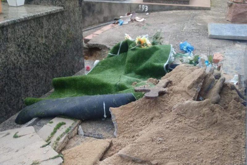 Morto tem corpo violado e cabeça arrancada em José Boiteux – Foto: Divulgação/Redes Sociais