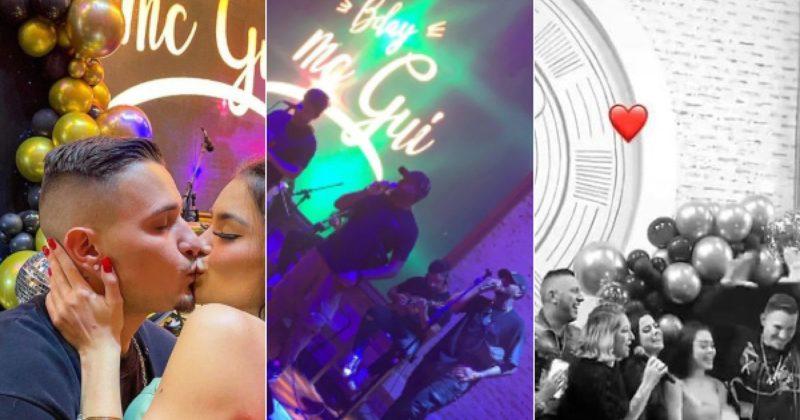 Internautas criticam MC Gui por festa de aniversário durante pandemia da Covid-19 – Foto: Twitter/Reprodução/ND