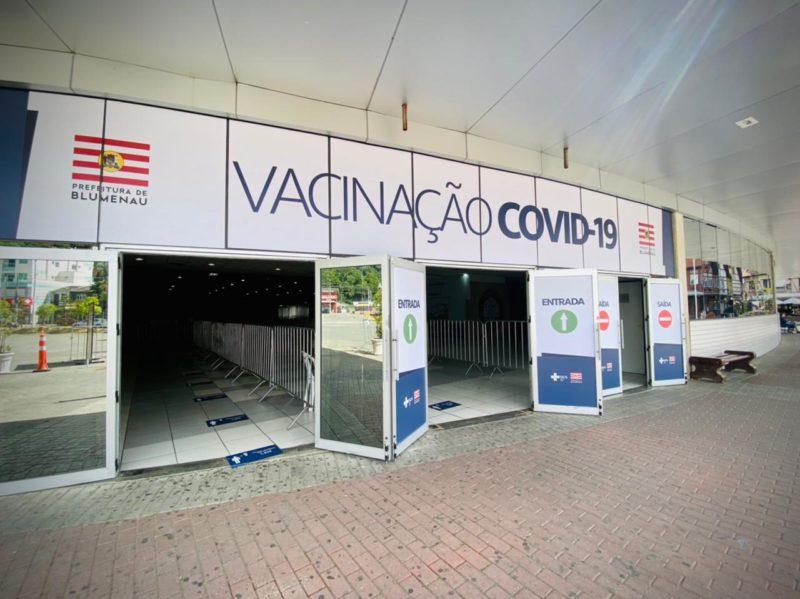 Prefeitura disponibiliza vaga de vacina da Covid-19 para novos grupos – Foto: Moisés Stuker/NDTV Blumenau