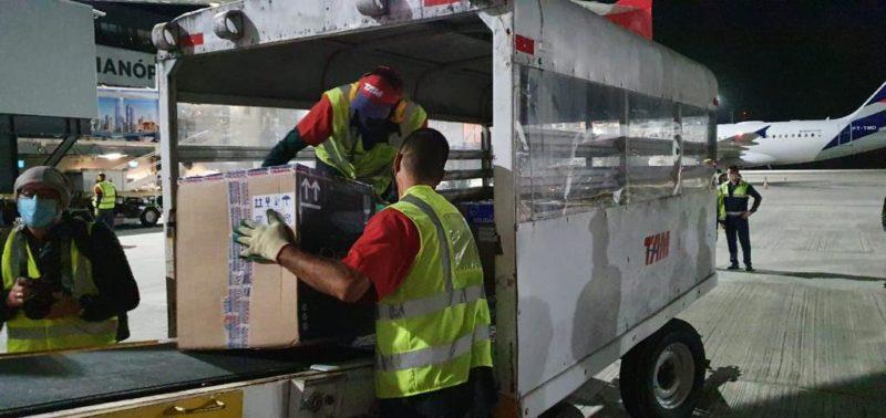 Santa Catarina recebe novo lote de vacinas nesta segunda-feira (17) – Foto: Dive/Divulgação/ND