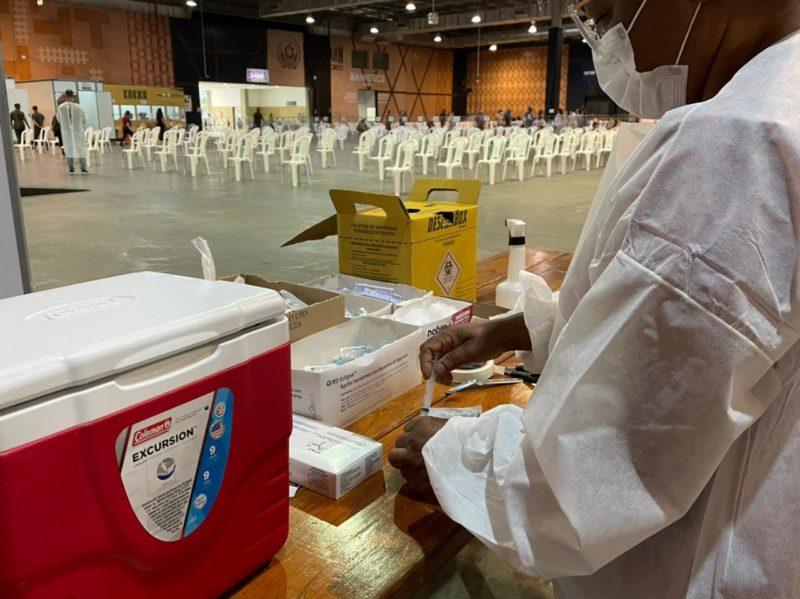 Vacinação da Covid-19 em Blumenau – Foto: João Vitor Korc/Divulgação/Prefeitura de Blumenau