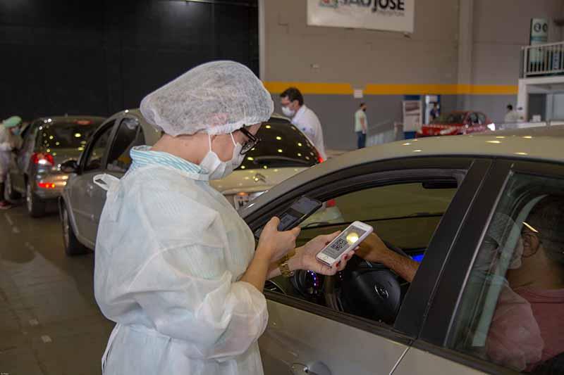 São José dá continuidade a vacinação nesta terça – Foto: Prefeitura de São José/Divulgação