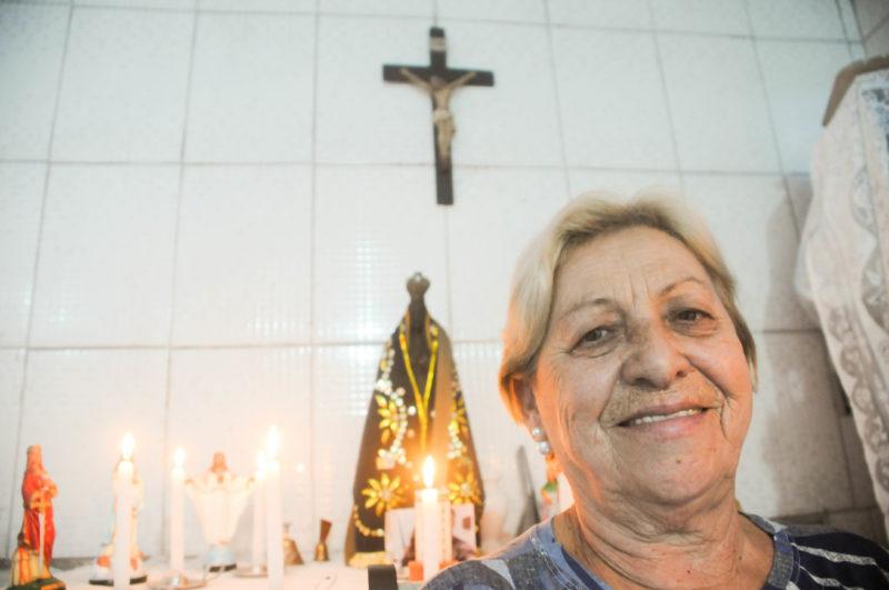 Vera Teresa está há três décadas no município e não pensa em sair – Foto: Leo Munhoz/ND