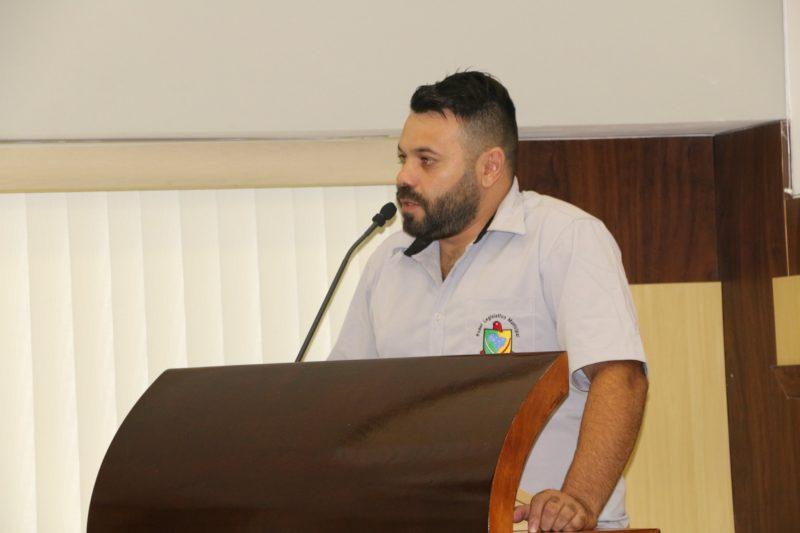 Vereador Átila de Oliveira, que também é presidente do PL de Bombinhas, deve ter o mandato cassado – Foto: Câmara de Vereadores de Bombinhas/Divulgação