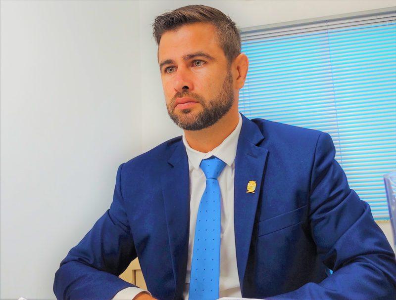 Vereador Andrew Laurentino teve o mandato impugnado por fazer boca de urna nas eleições municipais de 2020 – Foto: Reprodução/Redes sociais