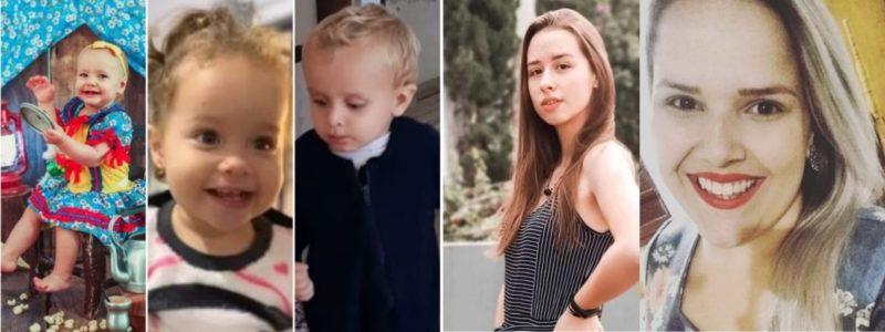 Cinco vítimas do ataque a creche de Saudades