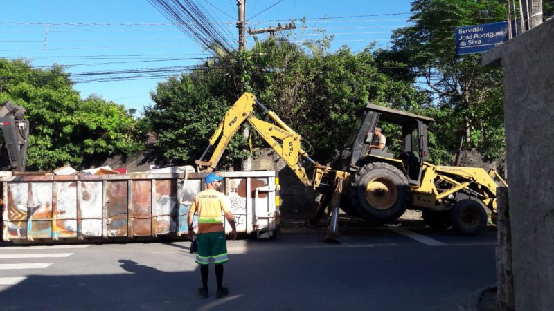 Moradores dos bairros nas regiões Leste e Oeste da cidade que demandarem o serviço neste mês serão agendados para esta semana, até o próximo dia 6 – Foto: PMF/Divulgação/ND
