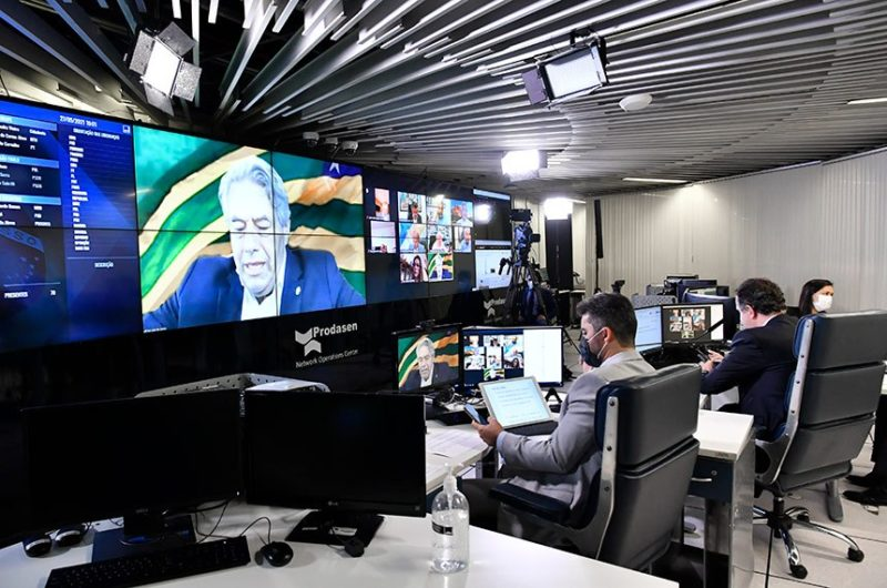 Senador Luiz do Carmo (MDB-GO) foi o relator da medida provisória – Foto: Waldemir Barreto/ Agência Senado