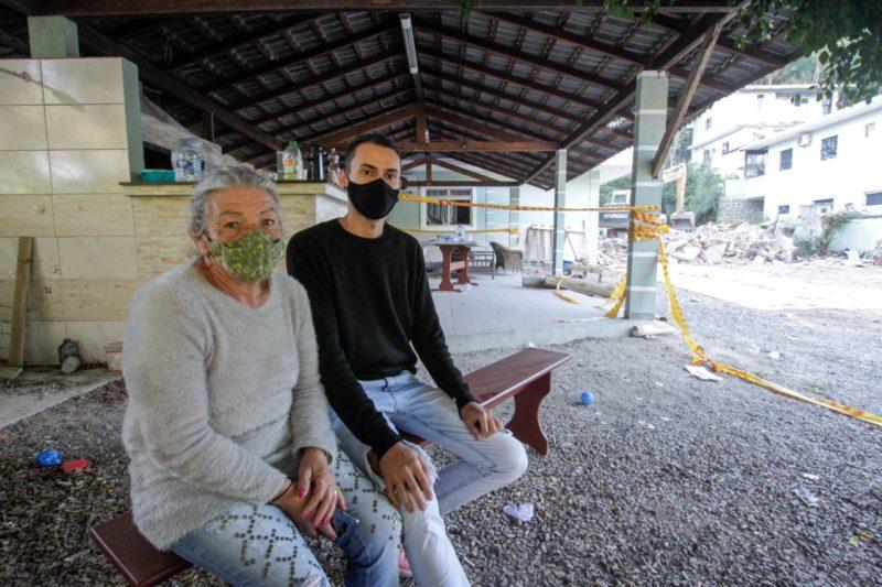 Vítimas da explosão em Jurerê