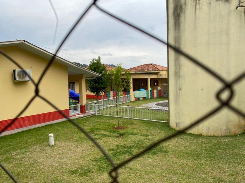 creche foi vítima de ataque em Saudades SC