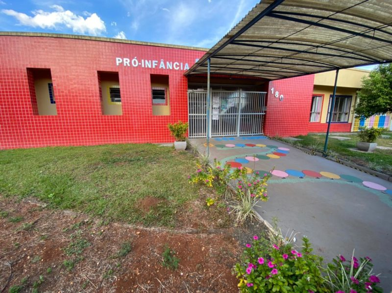 A escola foi alvo do ataque do jovem Fabiano Kipper Mai, na manhã desta terça-feira (4), deixando a cidade em estado de choque. – Foto: Willian Ricardo/NDMais