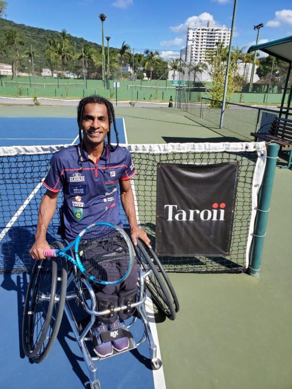 Ymanitu Silva disputa vaga no Mundial de Tênis e na Paralimpíada de Tóquio – Foto: ADK Tennis/Itamirim Clube de Campo/Divulgação