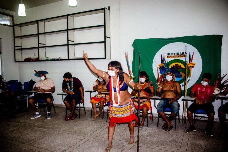 Comunidade indígena denuncua ataques de garimpeiros em Roraima – Foto: Yolanda Mêne/Amazônia Real