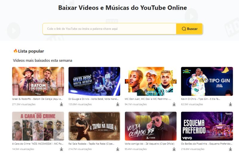 Baixar vídeos e músicas do youtube online – Foto: Divulgação/Snappea