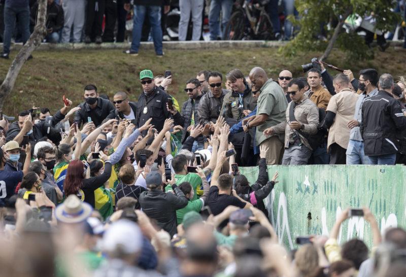 Evento encerrou a agenda do presidente em Chapecó – Foto: Liamara Polli/ND