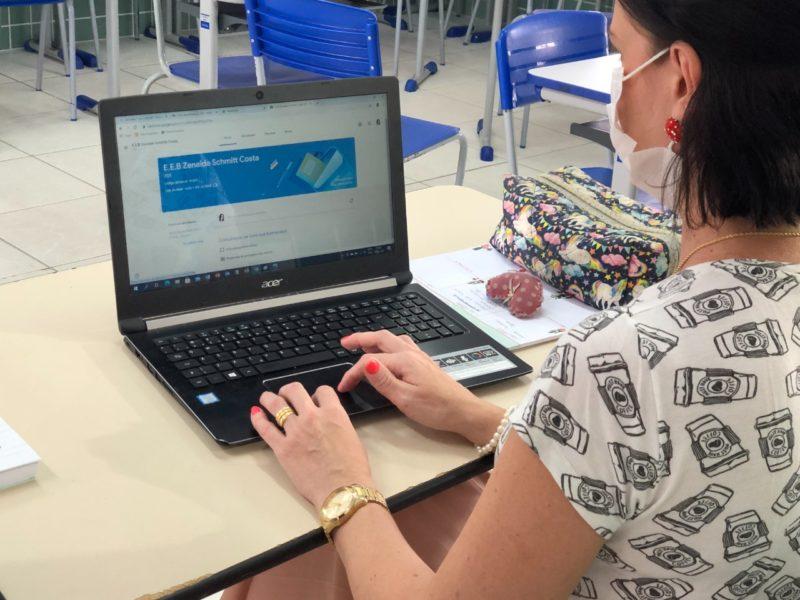 Conjunto de ações promovido neste ano para melhorar a qualidade da educação de Gaspar – Foto: Prefeitura de Gaspar/Divulgação