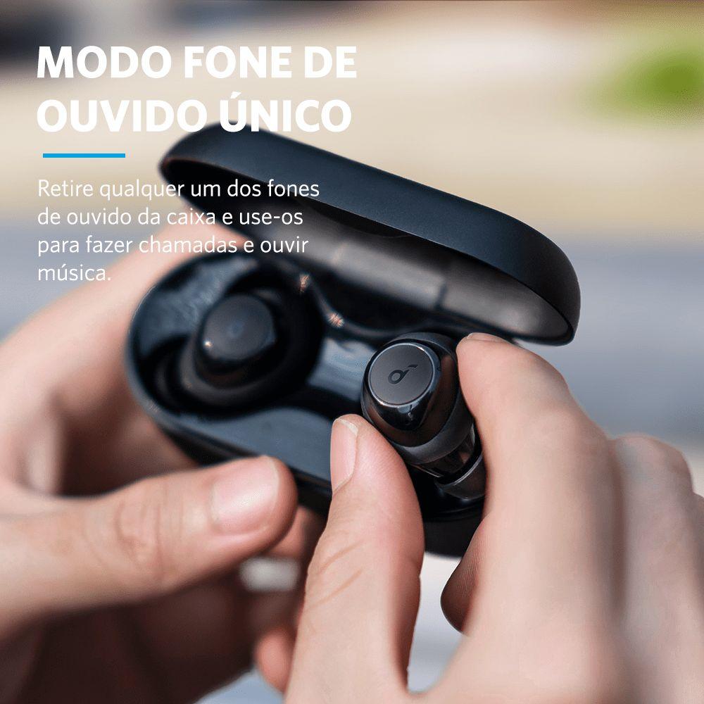 Fone de ouvido wireless Anker Soundcore Life Dot 2 - Foto: Divulgação/33Giga/ND