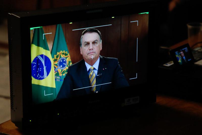 Pronunciamento do Presidente da República, Jair Bolsonaro. – Foto: Anderson Riedel/PR/Divulgação/ND